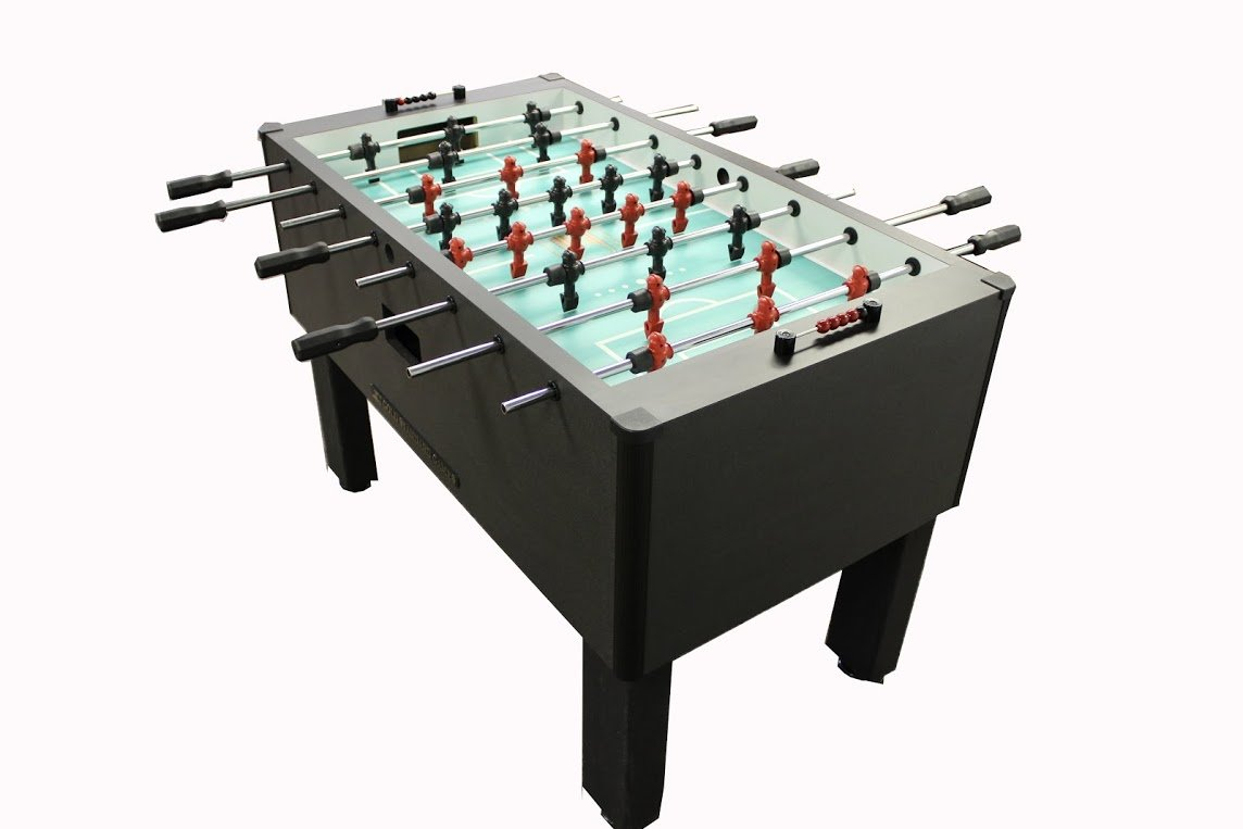 Gold Standard Games Home Pro Foosball Table (Charcoal (QPQ Stainless Steel Rods-Black Handles))
