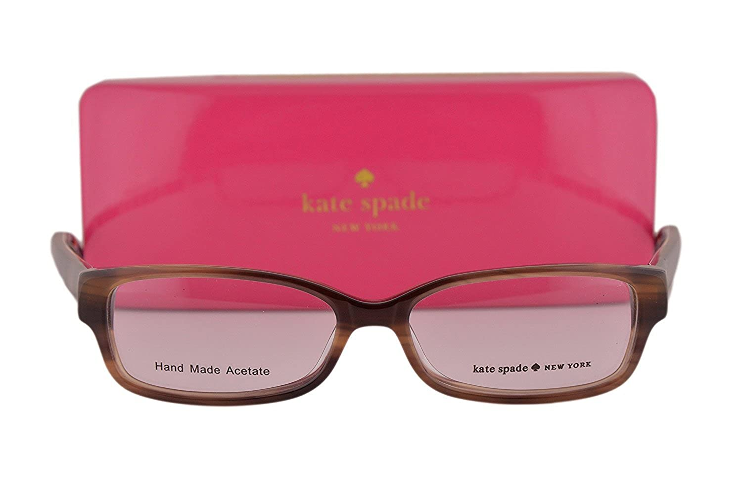 5638a153bbf Kate Spade Eyeglasses Catalina 51-14-135 Havana Blue 0FN8  Amazon.in   Clothing   Accessories
