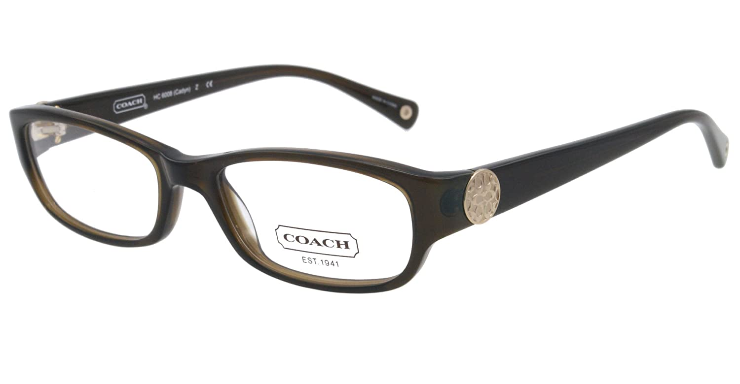 4d10578f71 Coach Eyeglasses HC 6008 5030 BROWN CADYN 53MM  Amazon.co.uk  Clothing