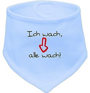 ICH DEKORIERE! Angry Shirts ICH KLECKER NICHT Baby Halstuch