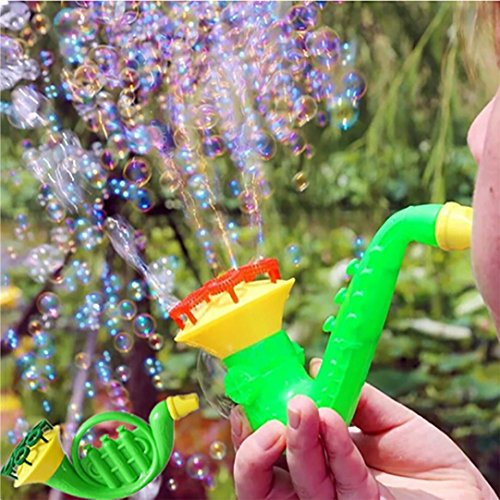 Price comparison product image LiPing Blowing Toys Bubble Soap Bubble Blower Outdoor for Toddlers, Kids, Parties (Bubble Blower)