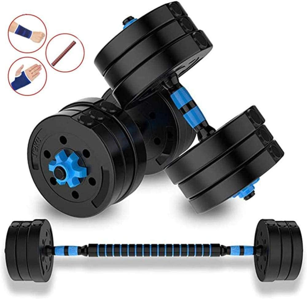 Barhe 2IN1 Kit Mancuernas Musculacion Grandes