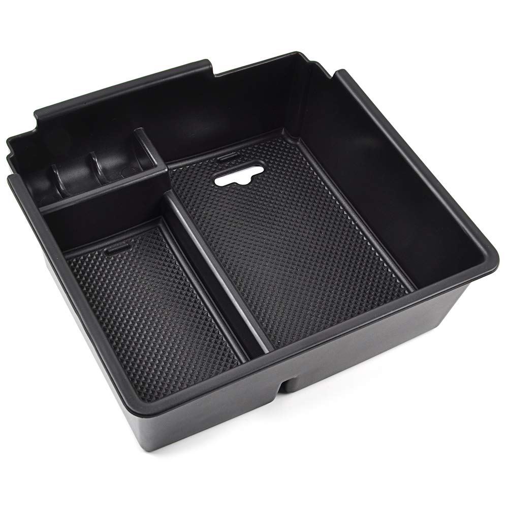 OTUAYAUTO Handschuhfach Armlehne Aufbewahrungsbox Center Console Armrest Storage Box Innen Ranger Mittelkonsole
