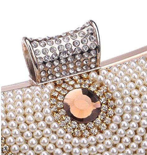 Bag Diamond For Wedding Handbag Shoulder Bag Clutch Silver Ladies Purse Prom Evening rwnvqXwO