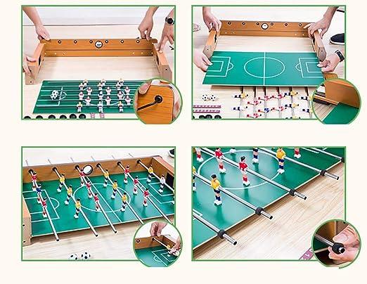 RUIXFFT Futbolin Foosball, Juego de fútbol de Mesa, Campos de ...