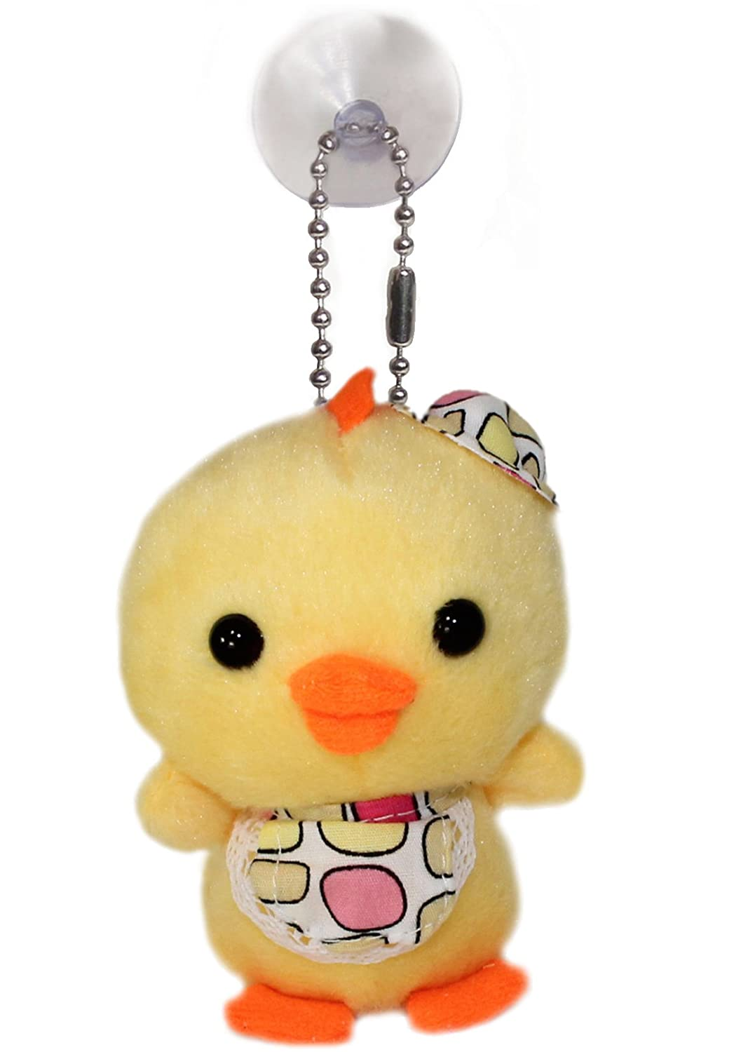 Amazon Com Lucore 4 Baby Chick Plush Stuffed Animal Keychain