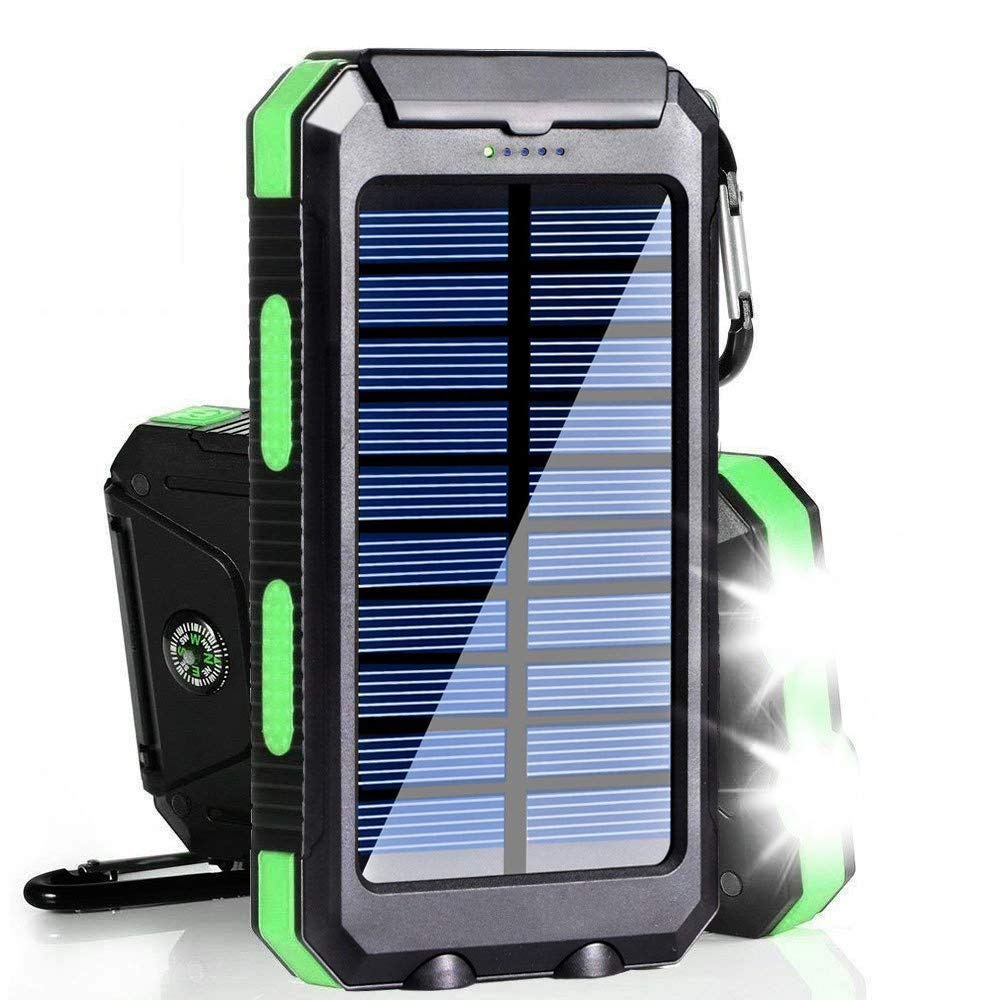 SolarBank - Solar phone charger and power bank   Solar