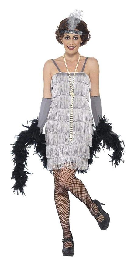 Flapper Fancy Dress - Kit de Accesorios y Peluca para Mujer (Incluye Soporte para Cigarrillos