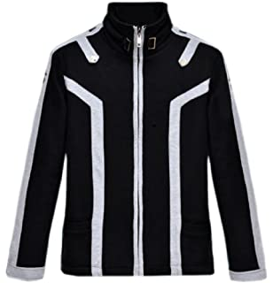7112dacc9 GK-O Anime Sword Art Online SAO Kirito Warm Thicken Jacket Hoodie Outfit  Coat Cosplay