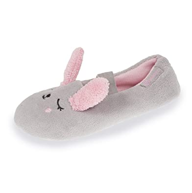946e450bb8174 Isotoner Chaussons Ballerines Fille Lapin 3D  Amazon.fr  Chaussures et Sacs
