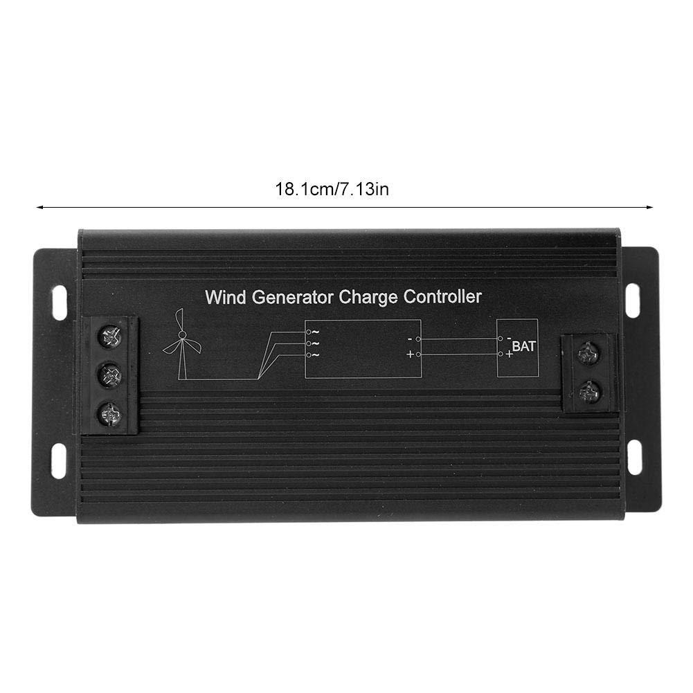 1000W 12V//24V//48V Wind Turbine Generator Charge Controller 400W