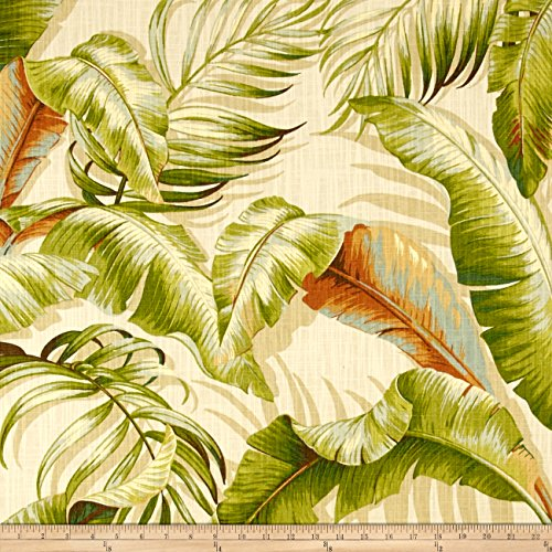 Tommy Bahama Home Dec Palmiers Sunsplash Fabric By The (Tommy Bahama Leaf)