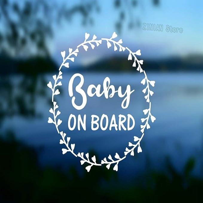 Palabras de bebé a bordo Pegatinas de pared Calcomanías de ...