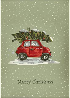 f50a3bfc0 Fiat 500 inspired Christmas cards pack of 10 single design  Amazon ...