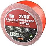 NASHUA 2280 Red Duct Tape, Bulk Pack, Full Case, 72mm x 55M, 16 Rolls