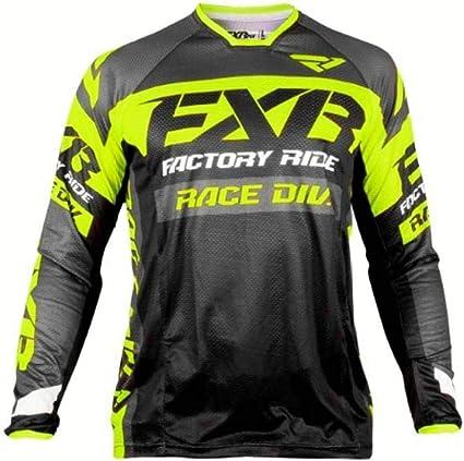 PYMNDZ Motocross MX FXR Jersey de manga larga MTB Jersey de ...