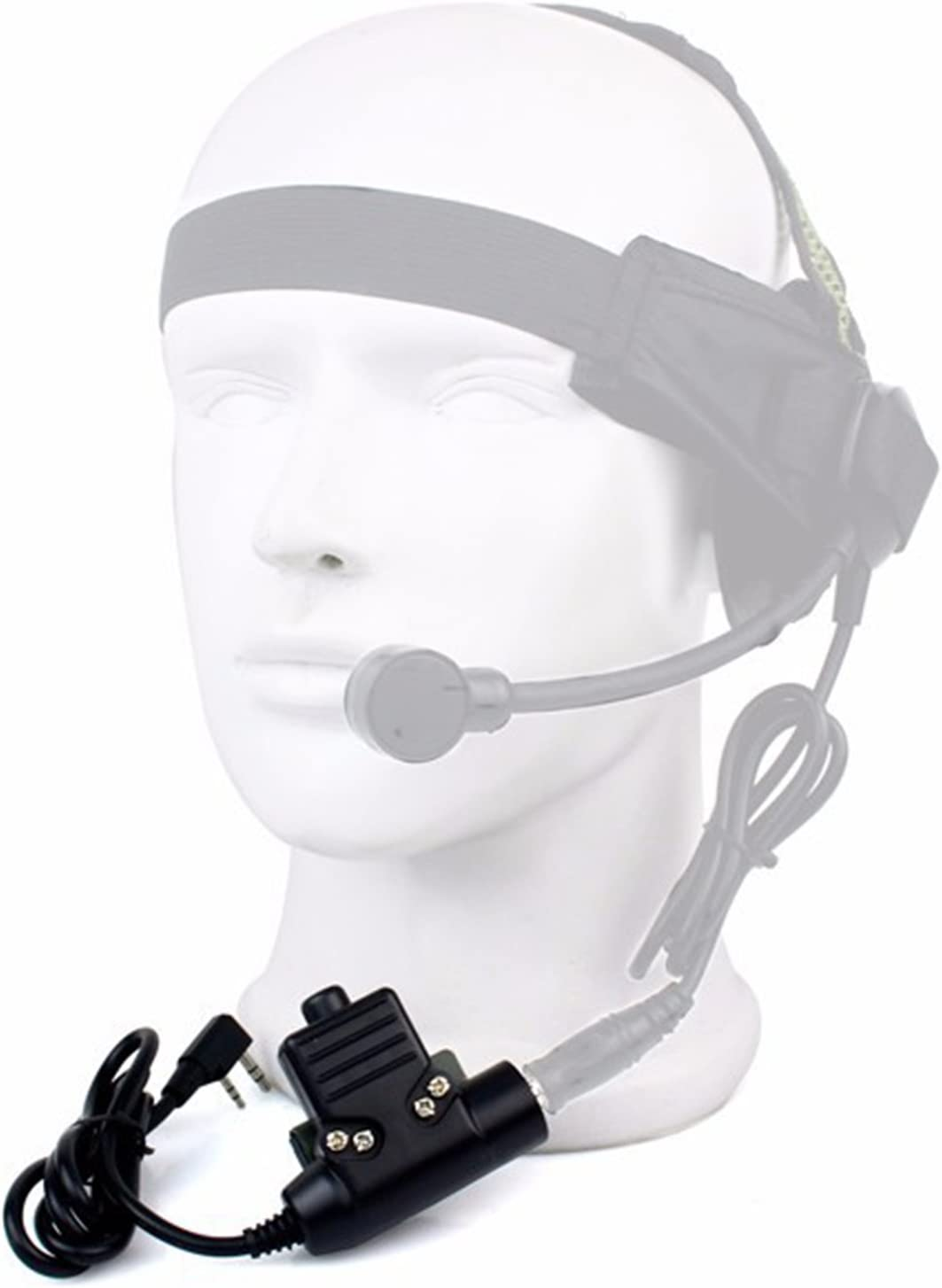 1Pcs Z Tactical TCI U94 PTT Heavy Duty Headset For Kenwood Baofeng WOUXUN Radio.