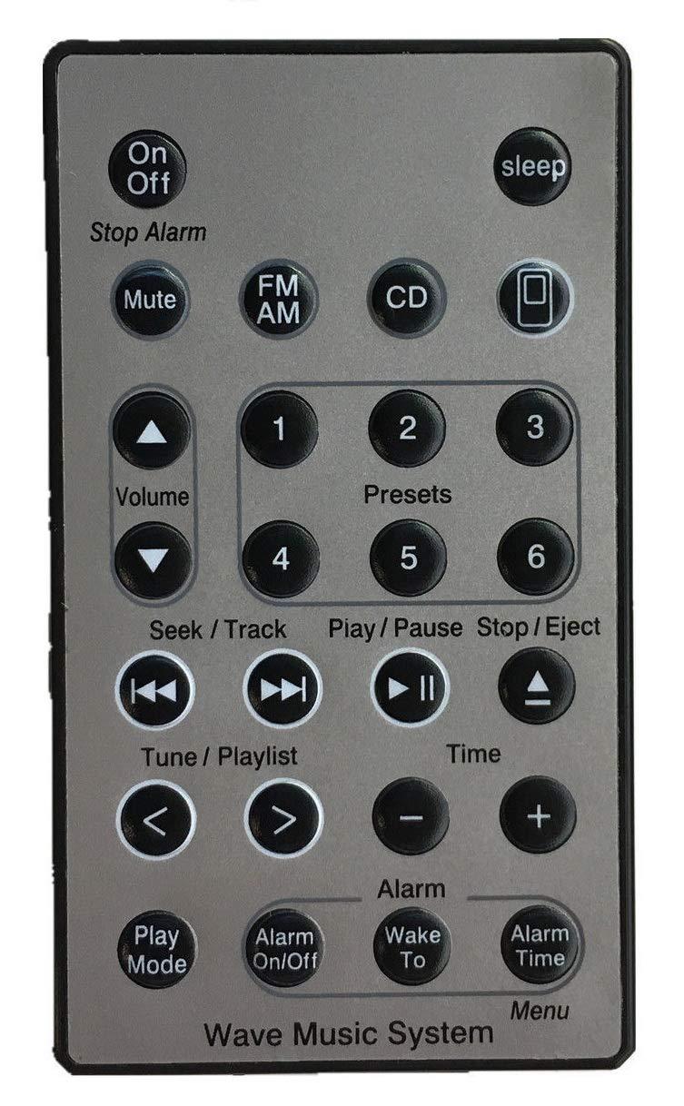 Bose Wave Radio AWRC1G Alarm Clock Radio AM//FM CD Player White with Remote