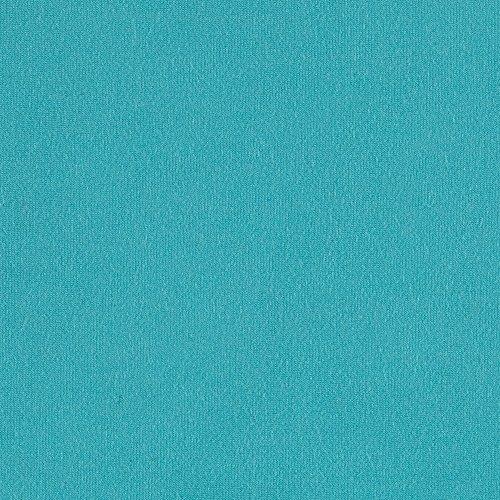 (TELIO Stretch Bamboo Rayon Jersey Knit Aqua Fabric by The Yard)