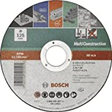 BOSCH 2609256307 - Disco multiuso, 125 mm x 1 mm, recto
