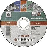 Bosch DIY Trennscheibe Multi Construction (für Winkelschleifer, Ø 125 mm, gerade, ACS 60 V BF)