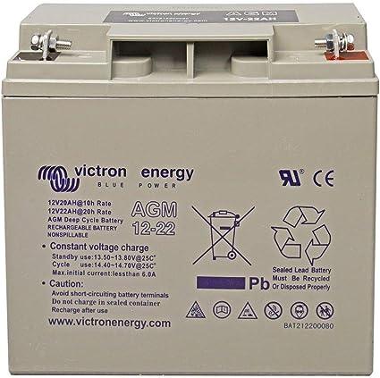 Batterie agm 12v22ah victron energy