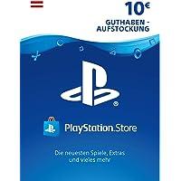 PSN Guthaben-Aufstockung 10 € [PSN Code für österreichisches Konto]