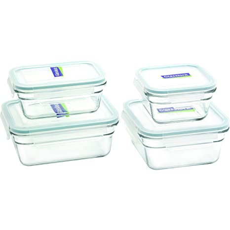 Glasslock Food Storage Container Sets Stunning Amazon Glasslock 60Piece Rectangle And Square Assorted Oven