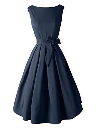 Amazon.com: iLover Women's 1950s Style Rockabilly Swing Vintage ...