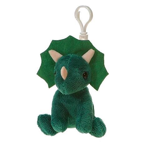 Amazon Com Fiesta Toys Exotic Dinosaur Plush 4 Triceratops