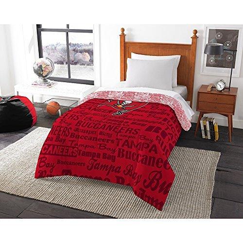 (Northwest 876 Bucs Tampa Bay Buccaneers NFL Twin Comforter (Anthem) (64