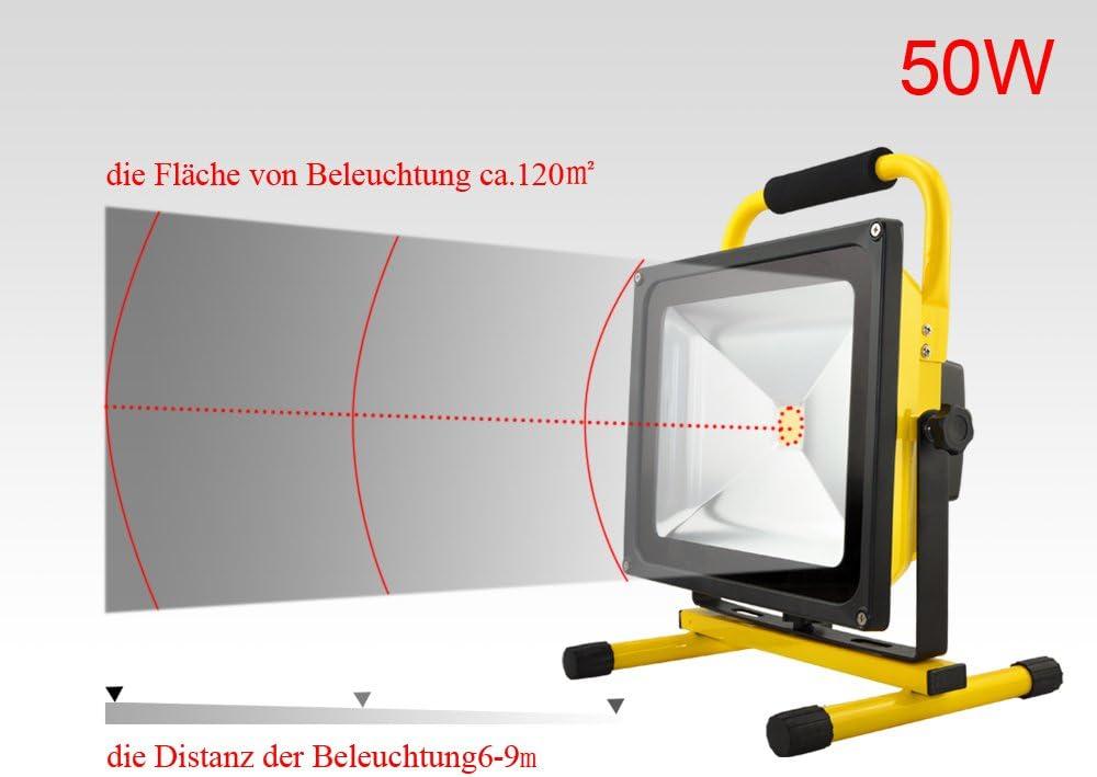 1 unidades 50w Power LED blanco cálido 3500k 4000lm acuario