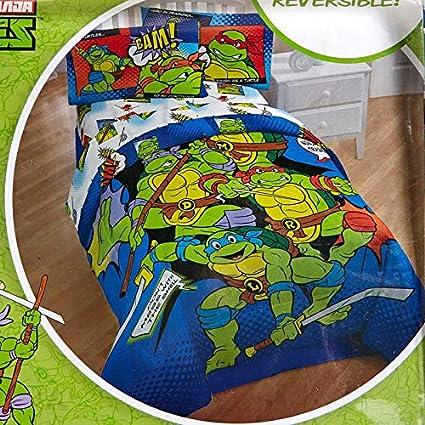 Franco 6-pc Teenage Mutant Ninja Turtles Comforter & Sheet Set - Full Size Set (Set Includes: Full Comforter, Sham & 4-pc Full Size Sheet Set) See ...