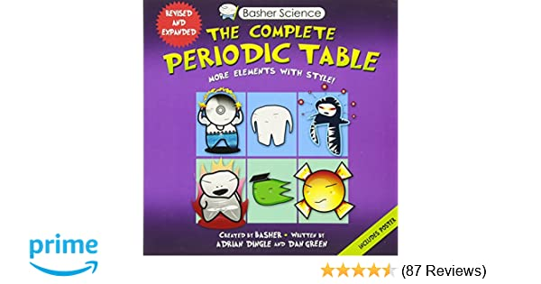 Amazon basher science the complete periodic table all the amazon basher science the complete periodic table all the elements with style 9780753471975 adrian dingle simon basher dan green books urtaz Image collections