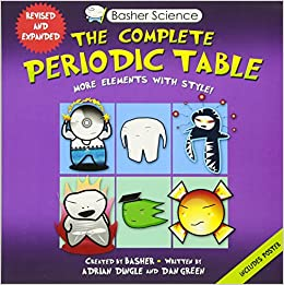 amazoncom basher science the complete periodic table all the elements with style 9780753471975 adrian dingle simon basher dan green books