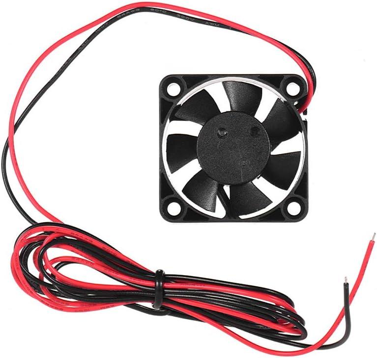 Aibecy creality 3d 4010 ventilador de refrigeración Sin escobillas 40 * 40 * 10 mm 24 V DC con Rodamiento de bolas de impresora 3d microondas Panasonic 3 extrusora