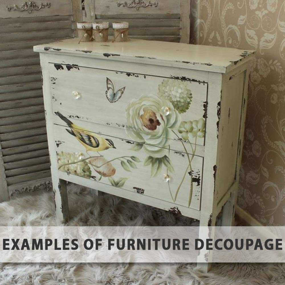 Individual Paper Decoupage Napkin Unique Creative Design Collection 15