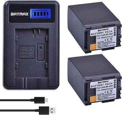 XA30 XA35 HD Professional Camcorder XA25 Battery Charger for Canon XA20