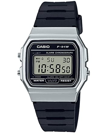Casio F-91WM-7A unisex quartz wristwatch