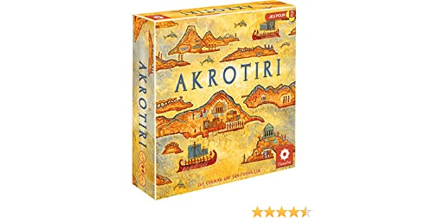 FILOSOFIA Akrotiri (jeu en français): Amazon.es: Juguetes y juegos