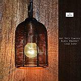 vintage lighting for modern homes Art Deco Industrial Metal Cage 14w Ceiling Lamp