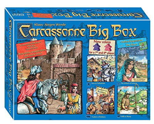 Carcassonne Game (Z-Man Games - Carcassonne Big Box 5)