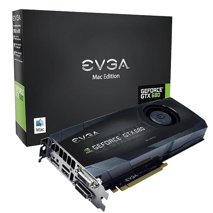 EVGA nVIDIA GTX 680 - Tarjeta gráfica de 2 GB (GeForce GTX 680, GDDR5, 2048 x 1536, HDMI)