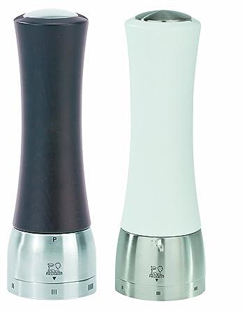 Peugeot Set Madras Pfeffermühle+Salzmühle u-select schoko weiß 21 cm