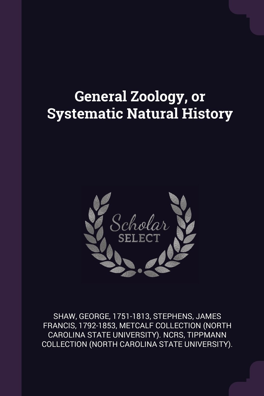 Download General Zoology, or Systematic Natural History pdf