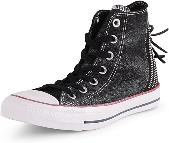 baskets converse chuck taylor all star sparkle wash hi