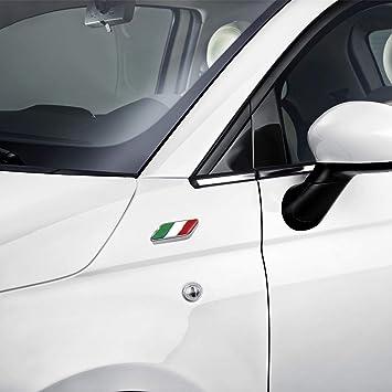 50901681 Par de insignias para aleta o puerta de Fiat 500: Amazon.es: Coche y moto