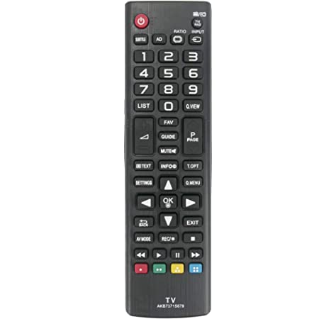 allimity Reemplazo de Control Remoto AKB73715679 for LG TV 32LB550 32LB561 39LB561 42LB550 42LB561 49LB550 47LB561 50LB561 50PB560 55LB561 60LB561 60PB561: Amazon.es: Electrónica