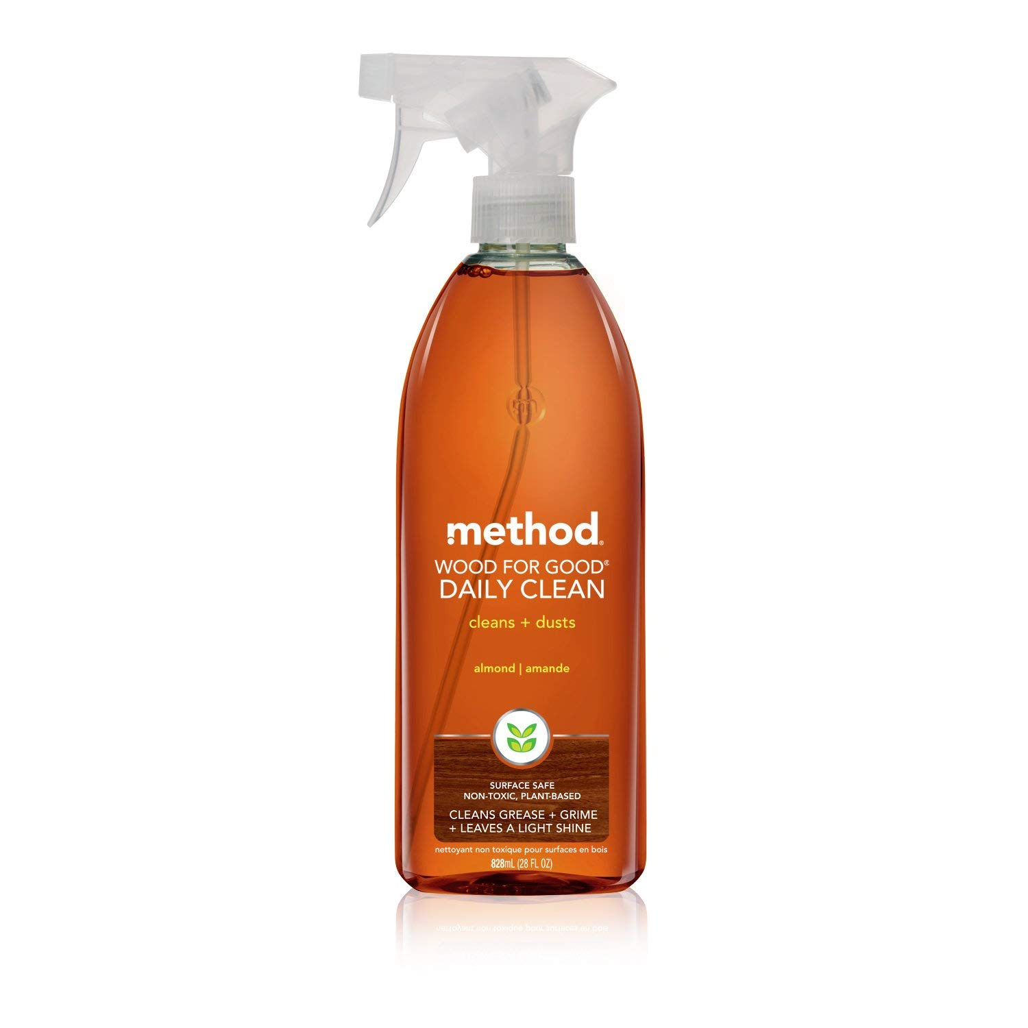 Method Daily Wood Surface Cleaner, 28 Ounce (Pack of 2) by Method