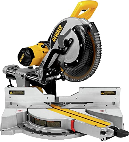 Dewalt DWS779R 15 Amp 12 in. Sliding Compound Miter Saw Renewed